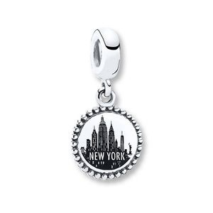 Authentic PANDORA Charm New York Sterling Silver
